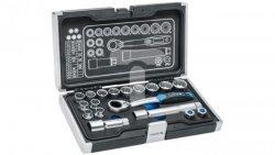 Zestaw nasadek przelotowych i akcesoriów 1/4 3/8 18 elemenów HT1R478