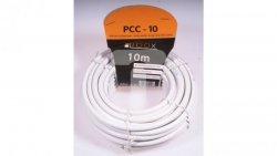 Przewód koncentryczny RG6 0,8/4,8 PCC10 LIBOX /10m/