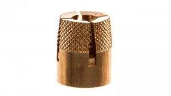 Wkładka (tulejka) gwintowana M8 do szafek od 400mm montaż z tyłu 036240