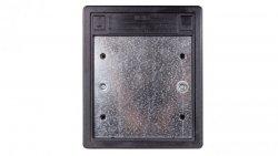 Simon Connect Puszka SF podłogowa potrójna 6xK45 + SM302/9 szary grafit SF370/14
