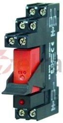 Przekaźnik bezpotencjałowy na szynę OMEGA TR 43-K