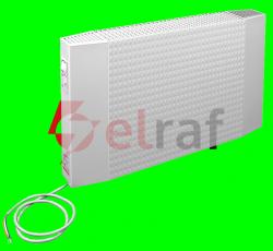 Elektryczny grzejnik konwekcyjny GE-10/2/10 1000W 1000X200mm