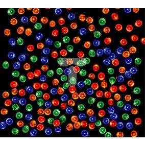 Komplet choinkowy wnętrzowy LED  100L w okręgu 10cm multikolor 20-041