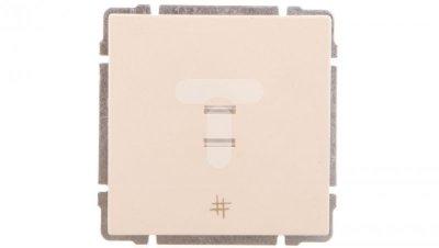 KOS66 Łącznik krzyżowy podświetlany kremowy 620317