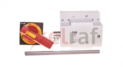 Napęd drzwiowy boczny lewa strona czerwono-żółty NZM3-XSR-L 266655