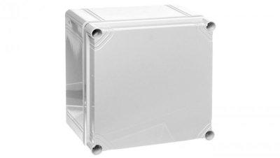 Obudowa kompletna szara pokrywa ABS 200x200x132mm IP66/67 OABP202013G