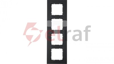 Berker B.7 Ramka poczwórna antracyt mat 10146626