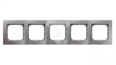 AS Ramka pięciokrotna srebro R-5G/18