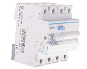 Wyłącznik różnicowoprądowy 4P 40A 0,3A typ AC -S CPC440J