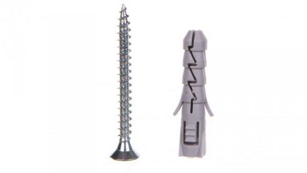 Kołek rozporowy fi 8 mm z wkrętem z nacięciem krzyżowym 5,0x50 - fix FIX-08+550 /200szt./