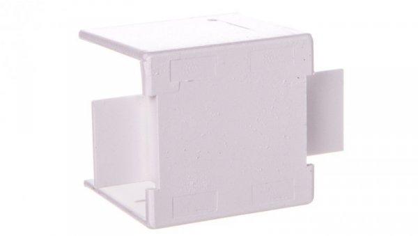 Łącznik prosty do kanałów kablowych GU 25x25 biały /2szt/ ECGU2525B