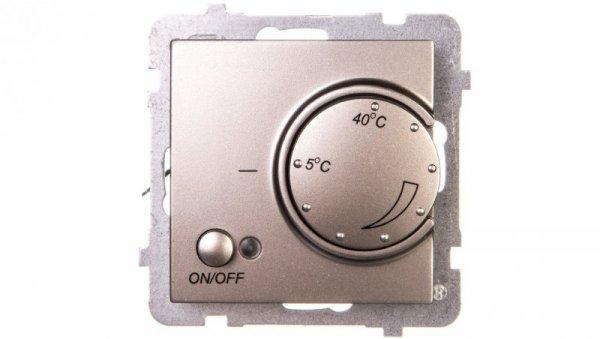 AS Regulator temperatury /czujnik napowietrzny/ satyna light RTP-1GN/m/45