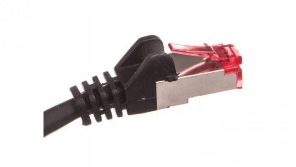 Kabel krosowy patchcord S/FTP (PiMF) kat.6 LSZH czarny 50m 68701