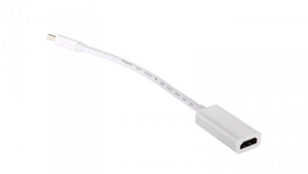 Adapter miniDisplayPort 1.2 - HDMI 0,1m 67880