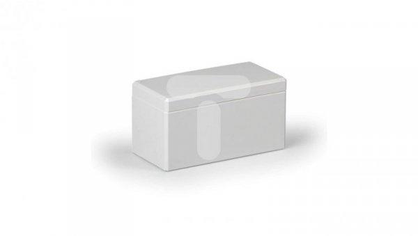 Obudowa Cubo D 80x160x86mm boki gładkie pokrywa szara IP67 ABS DABP081609G