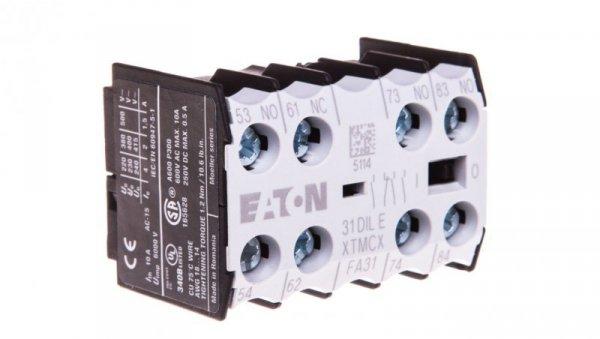Styk pomocniczy 3Z 1R montaż czołowy 31DILE 048912