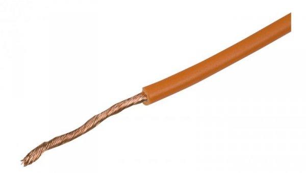 Przewód instalacyjny H05V-K 0,5 pomarańczowy 4510091 /100m/