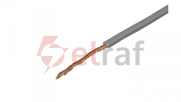 Przewód instalacyjny H05V-K 1 szary 4510063 /100m/