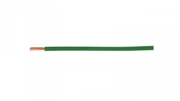 Przewód instalacyjny H05V-K (LgY) 0,75 zielony /100m/