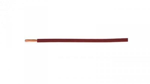 Przewód instalacyjny H05V-K (LgY) 1,5 czerwony /100m/