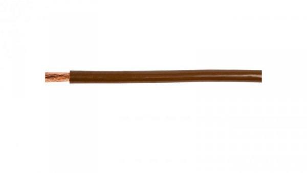 Przewód instalacyjny H07V-K (LgY) 2,5 brązowy /100m/