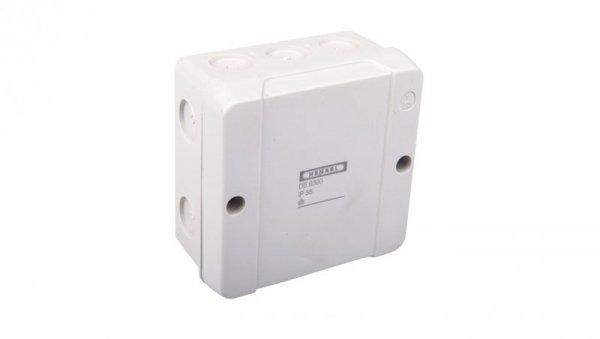 Puszka n/t odgałęźna bez zacisków 5-bieg. dla Cu do 2.5mm2 IP55 szary DE 9320 Z 6000659