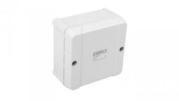 Puszka n/t odgałęźna dla instalacji w kanałach i rurach instalacyjnych IP54 szara DP 9025 6000038