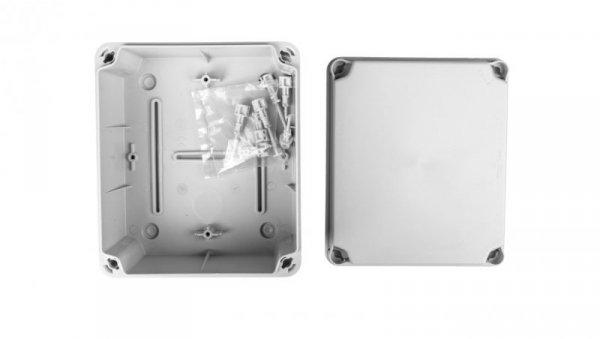 Puszka natynkowa LIGHT 175x151x95 6xM25 4xM40 gładka IP66/67 EL-171