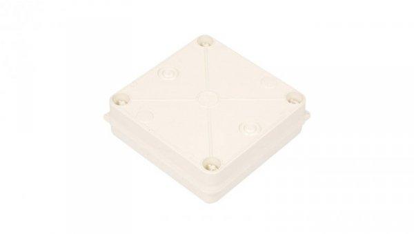 Puszka n/t hermetyczna pusta 135x135x42mm IP55 biała PK-3 0251-00