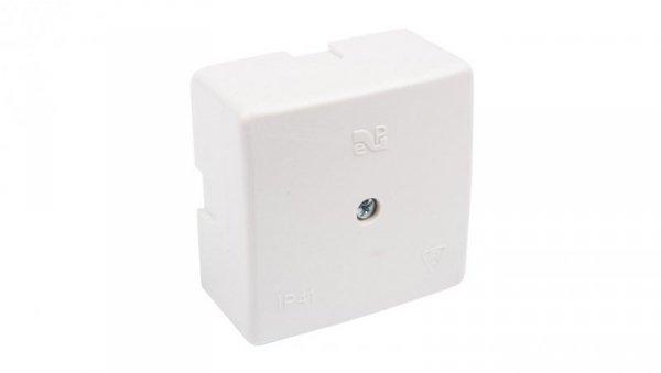 Puszka n/t hermetyczna pusta 60x60x30mm IP41 biała 0236-00