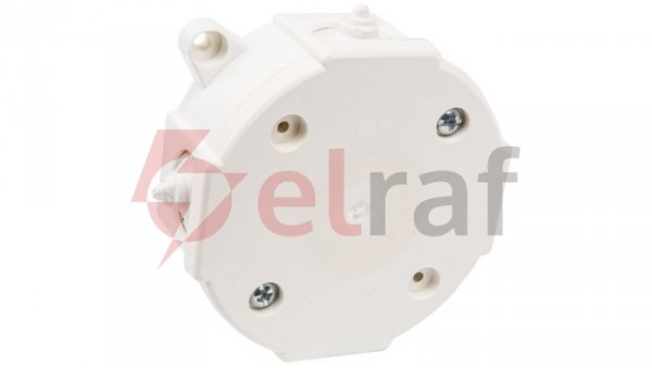 Puszka odgałęźna z zaciskami 4-torowa dla Cu do 2.5mm2 IP41 biała 80x38 0212-00