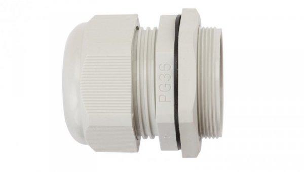 Dławnica kablowa poliamidowa PG36 IP68 DP 36/H szara E03DK-01030100801