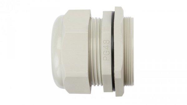 Dławnica kablowa poliamidowa PG48 IP68 DP 48/H szara E03DK-01030101001