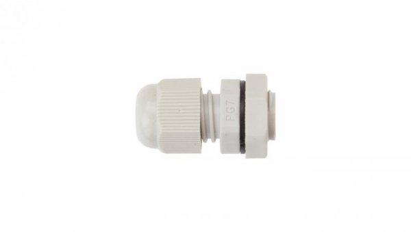 Dławnica kablowa poliamidowa PG7 IP68 DP 7/H szara E03DK-01030100101