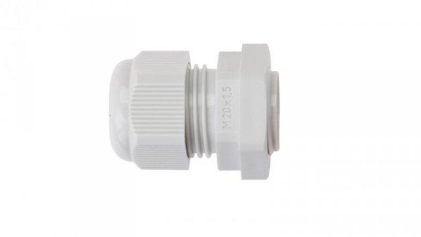 Dławnica kablowa poliamidowa M20 IP65 AKM 20 jasnoszara 3600210