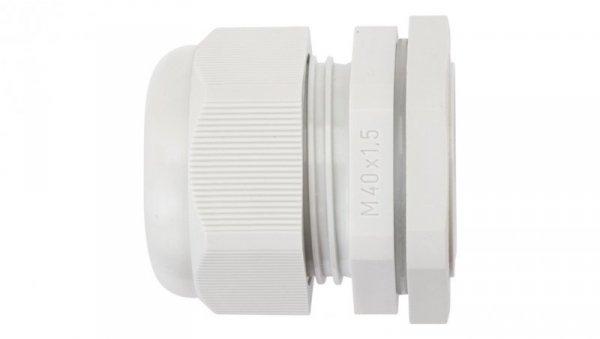 Dławnica kablowa poliamidowa M40 IP65 AKM 40 jasnoszara 3600213