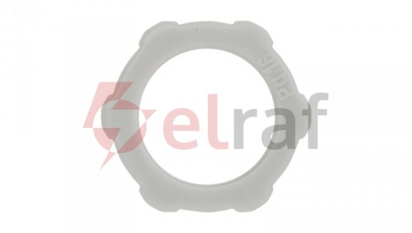 Nakrętka polistyrenowa PG16 jasnoszara 116 PG16 2043165 /100szt./