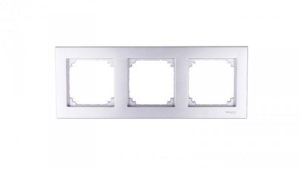Merten M-Plan Ramka potrójna aluminium MTN486360