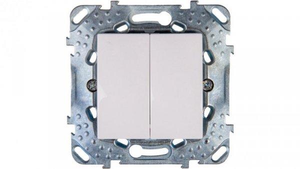 Unica Plus Łącznik świecznikowy 10AX biel polarna IP20 MGU50.211.18Z
