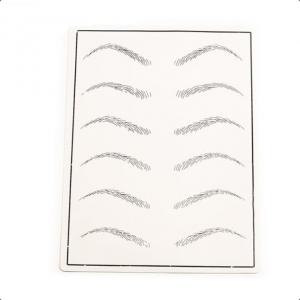 Skóra / Szablon do ćwiczeń na brwiach