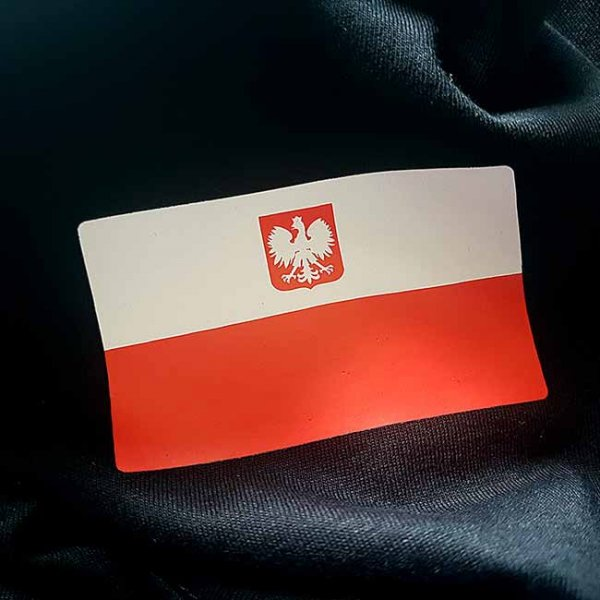 Flaga biało-czerwona