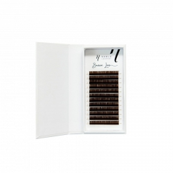 Brown Line Lashes D 0,05 brown
