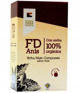 Yerba Mate Fede Rico ANIS FD Organica 250g BIO