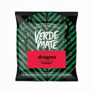 Verde Mate Green Dragon Fruit 50g Róża Papaja