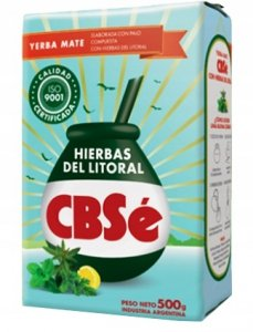 Yerba mate CBSe Hierbas del Litoral 500g Orzeźwia