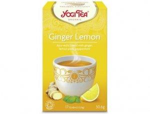 Herbata Imbir - Cytryna Bio 17x1,8g Yogi Tea