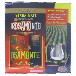 Zestaw do Yerba Mate - Matero + tykwa + Rosamonte