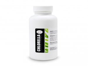 Chlorella tabletki 250mg (400 tabletek 100g) Detox