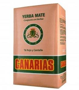 Yerba Mate Canarias Te Rojo y Centella 1kg