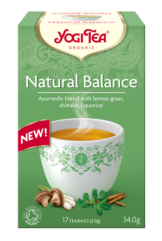 Herbata Naturalna równowaga NATURAL BALANCE Bio 17x2,0g Yogi Tea
